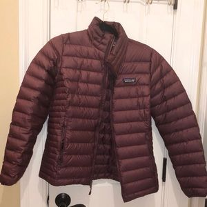 Patagonia Women Down Medium Puffer Jacket Coat